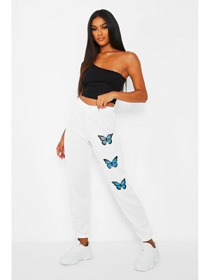 Boohoo Butterfly Thigh Print Joggers