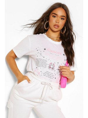 Boohoo Cancer Horoscope Graphic T-Shirt