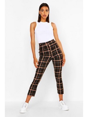 Boohoo flannel Tailored Tapered Trouser