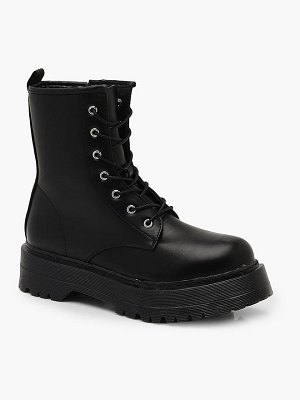 Boohoo Chunky Cleated Hiker Boots