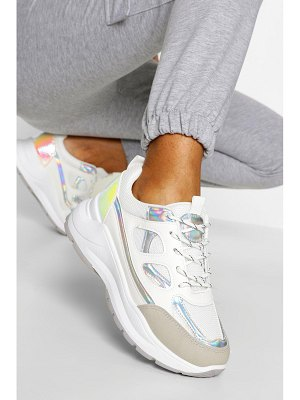 Boohoo Chunky Lace Up Trainer