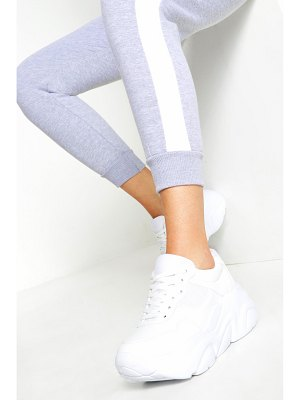 Boohoo Chunky Lace Up Sneakers