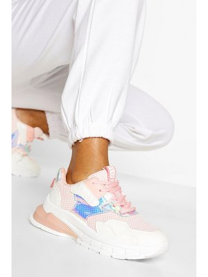 Boohoo Chunky Multi Panel Sneakers