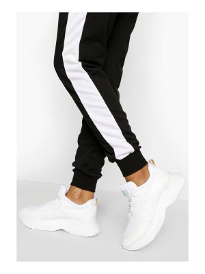Boohoo Chunky Sole Lace Up Trainer