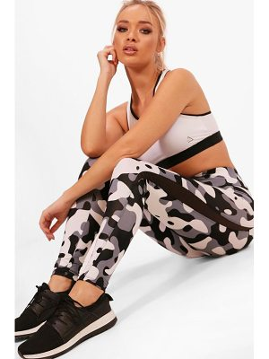 Boohoo Fit Camo Running Leggings