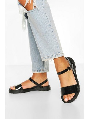 Boohoo Cleated 2 Part Sandals