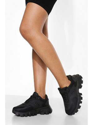 Boohoo Cleated Sole Trainer