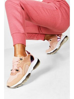 Boohoo Contrast Sole Chunky Sneakers