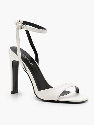 Boohoo Slim Block Barely There Heels