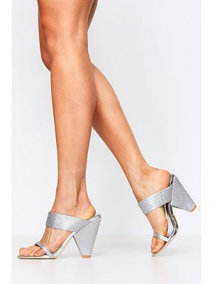 Boohoo Diamante Embellished Cone Mules
