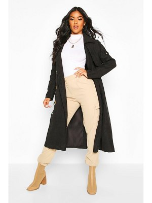 Boohoo Double Breasted Trench Coat