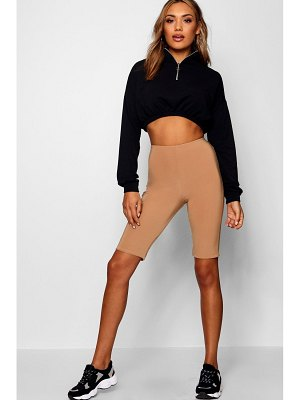 Boohoo Double Layer High Waist Cycling Shorts
