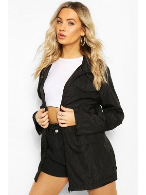 Boohoo Elasticated Waist Mac