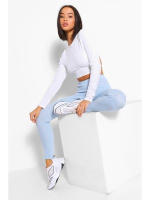 Boohoo Everyday Ribbed Jersey Legging