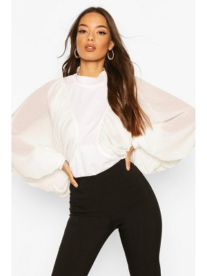 Boohoo Extreme Batwing Blouse