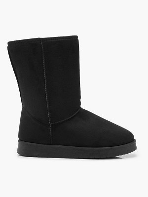 Boohoo Faux Fur Lined Cosy Boots