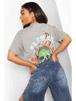 Boohoo Flaming Hot Graphic T-Shirt