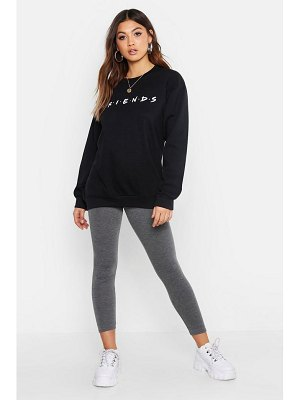 Boohoo Friends Licensed Sweatshirt