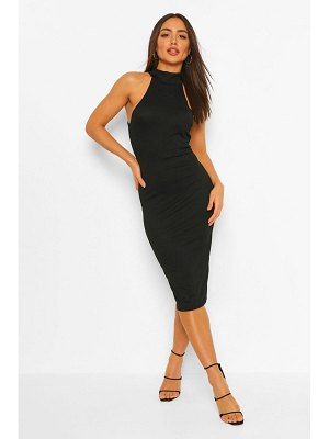 Boohoo Halterneck Midi Dress