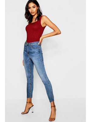 Boohoo High Rise Stretch Jeggings