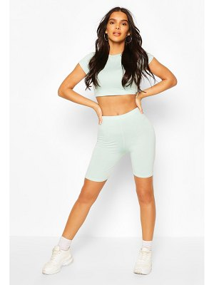 Boohoo High Waist Cycling Shorts
