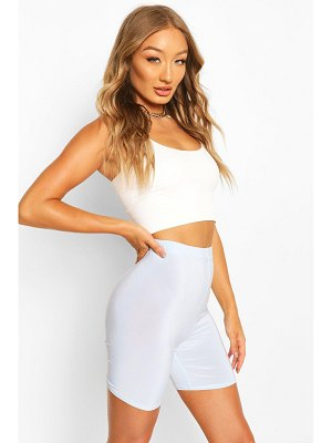 Boohoo High Waist Slinky Cycling Short