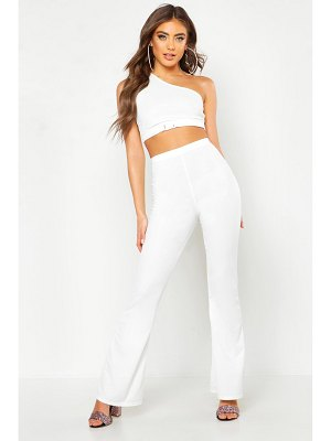 Boohoo High Waisted Flare Pants