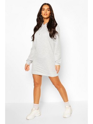 Boohoo Hooded Sweat Dress