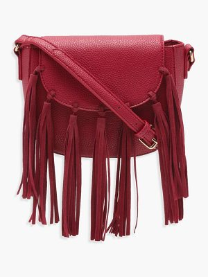 Boohoo Boho Tassel Cross Body Bag