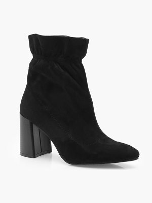 Boohoo Ankle Detail Sock Boots
