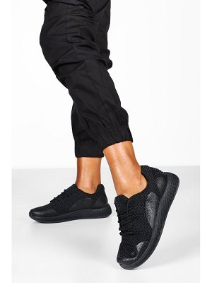 Boohoo Knitted Basic Sports Sneakers