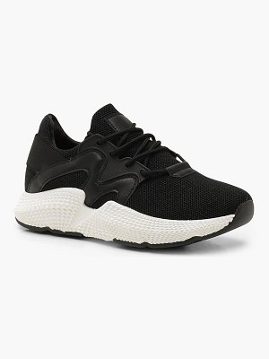 Boohoo Knitted Chunky Sports Sneakers