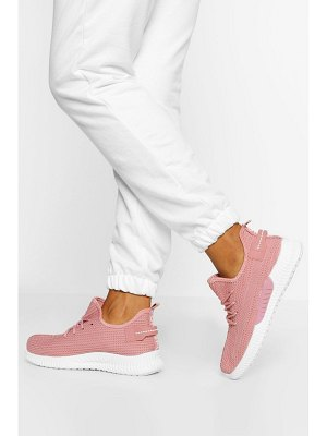 Boohoo Knitted Sports Sneakers