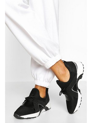 Boohoo Knitted Sports Trainer