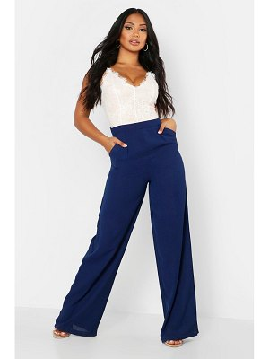 Boohoo Lace Body Insert Jumpsuit