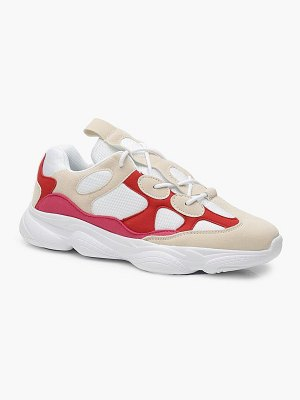 Boohoo Lace Up Chunky Dad Trainers