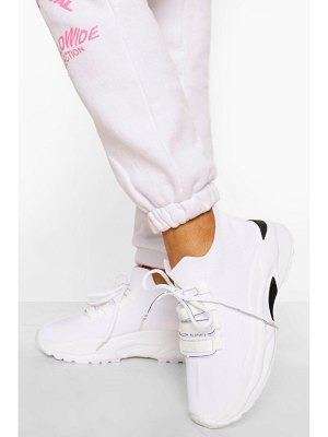 Boohoo Lace Up Sports Trainer