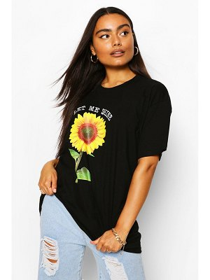 Boohoo Let Me Shine Graphic T-Shirt