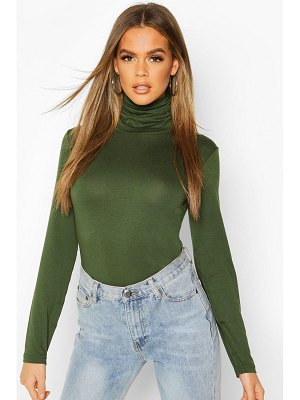 Boohoo Long Sleeve Roll Neck Top