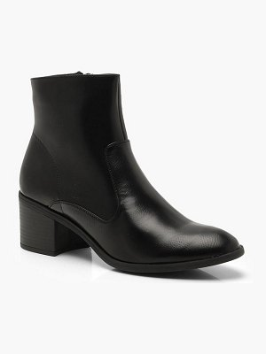 Boohoo Low Heel Ankle Boots