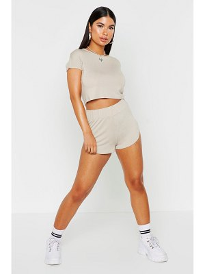 Boohoo Mix & Match Soft Lounge Runner Short
