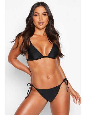 Boohoo Mix & Match Tie Side Bikini Brief