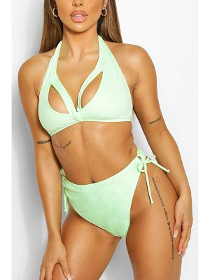 Boohoo Mix & Match Tie Side High Leg Brief