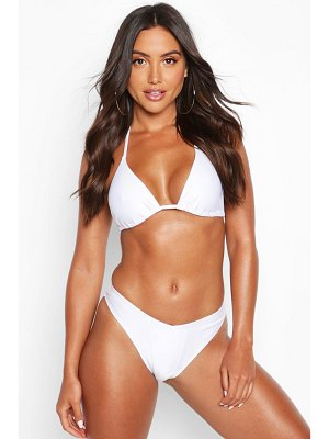 Boohoo Mix & Match Triangle Bikini Top