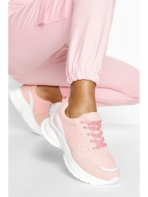 Boohoo Multi Panel Chunky Sneakers