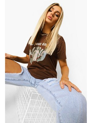 Boohoo Not Your Angel T Shirt