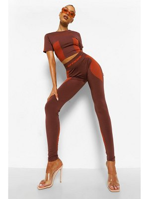 Boohoo Ofcl Seamfree Contour Leggings