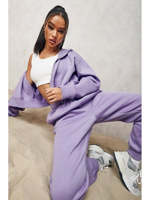 Boohoo Official Cropped Zip Through Tracksuit