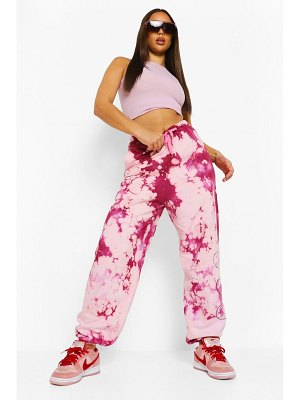 Boohoo Official Flame Print Tie Dye Jogger