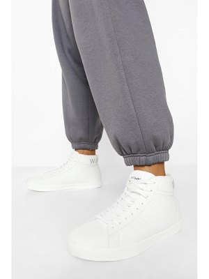 Boohoo Official High Top Sneakers
